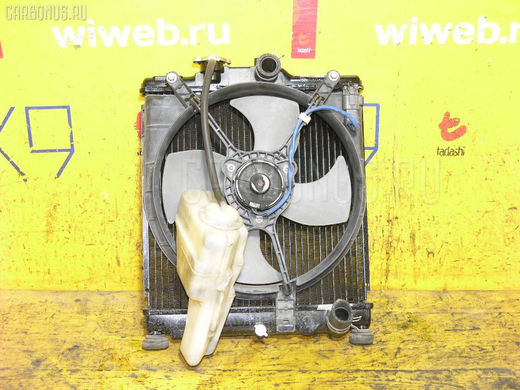 Радиатор ДВС HONDA PARTNER EY6 D13B. Фото 8