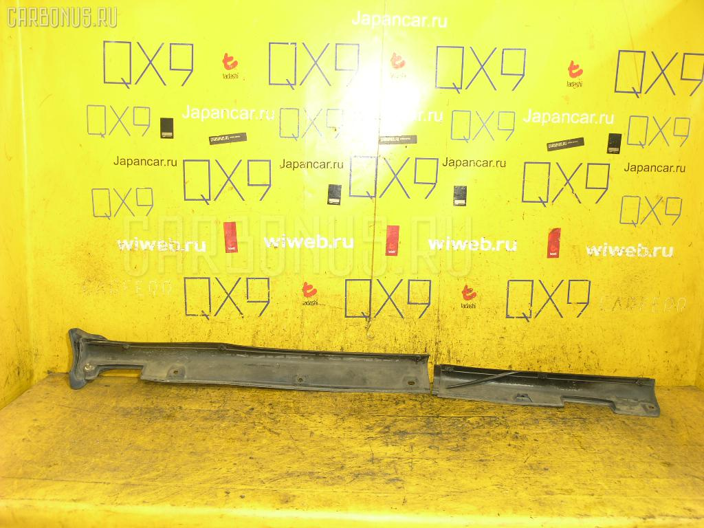 Порог кузова пластиковый ( обвес ) SUBARU IMPREZA GC8 Фото 2