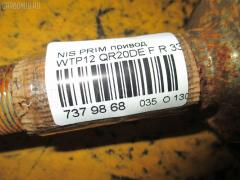 Привод NISSAN PRIMERA WAGON WTP12 QR20DE Фото 2