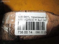 Тормозные колодки NISSAN SKYLINE V35 VQ25DD Фото 3