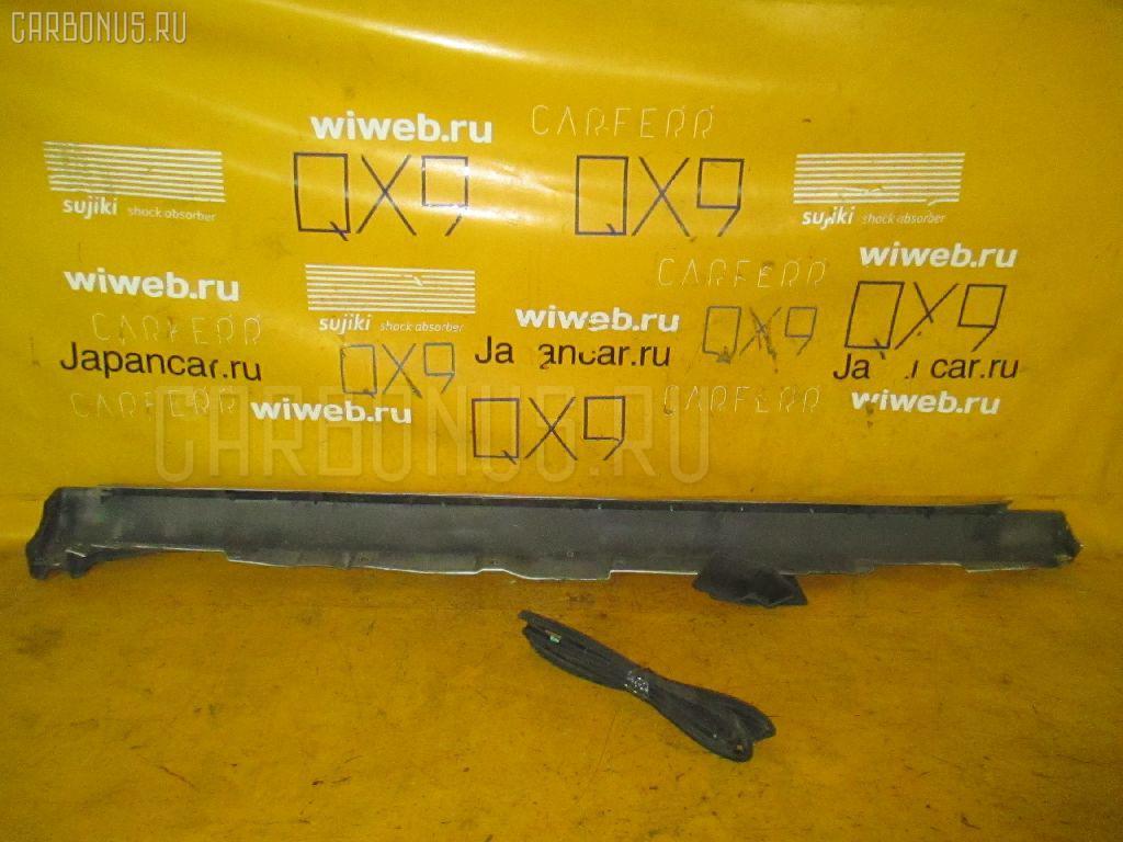 Порог кузова пластиковый ( обвес ) TOYOTA AVENSIS WAGON AZT250W Фото 2