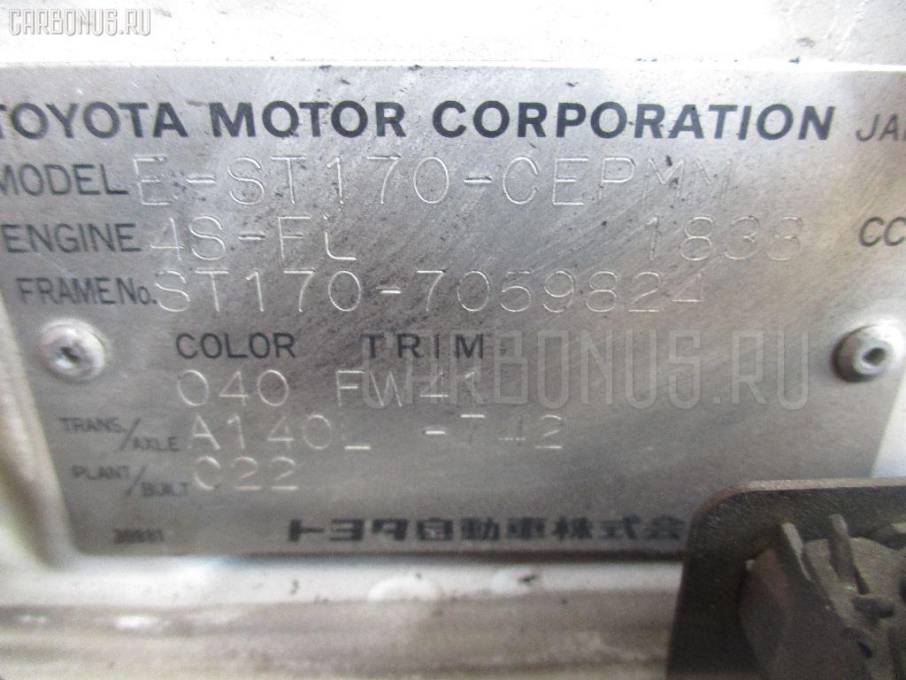 Блок управления климатконтроля TOYOTA CARINA ST170 4S-FI Фото 3