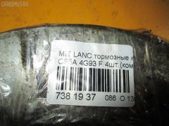 Тормозные колодки Mitsubishi Lancer cedia CS5A 4G93 Фото 2