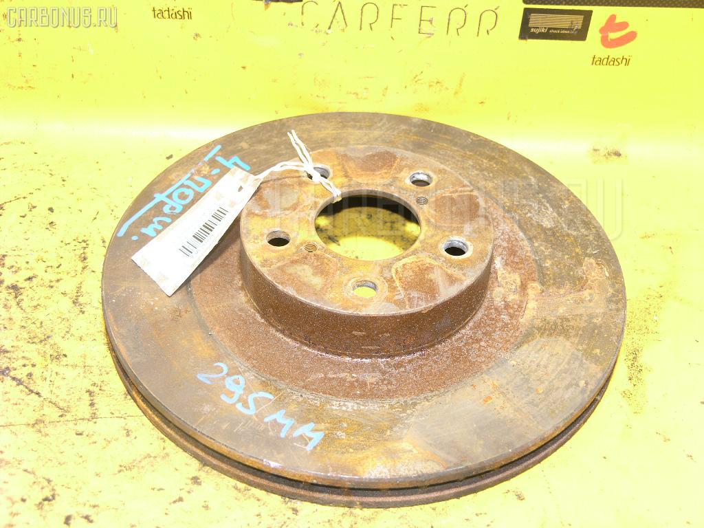 Тормозной диск SUBARU FORESTER SF5 Фото 1
