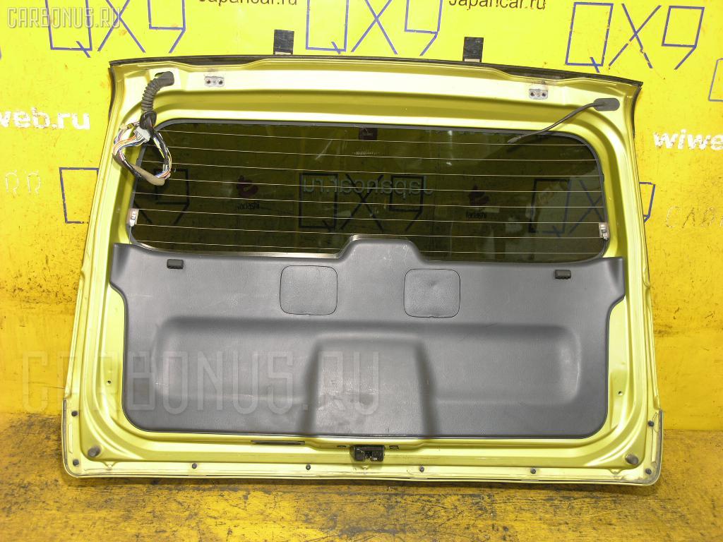 Дверь задняя HONDA HR-V GH4 Фото 2