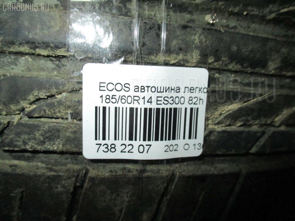 Автошина легковая летняя ECOS ES300 185/60R14 YOKOHAMA ES300 Фото 3