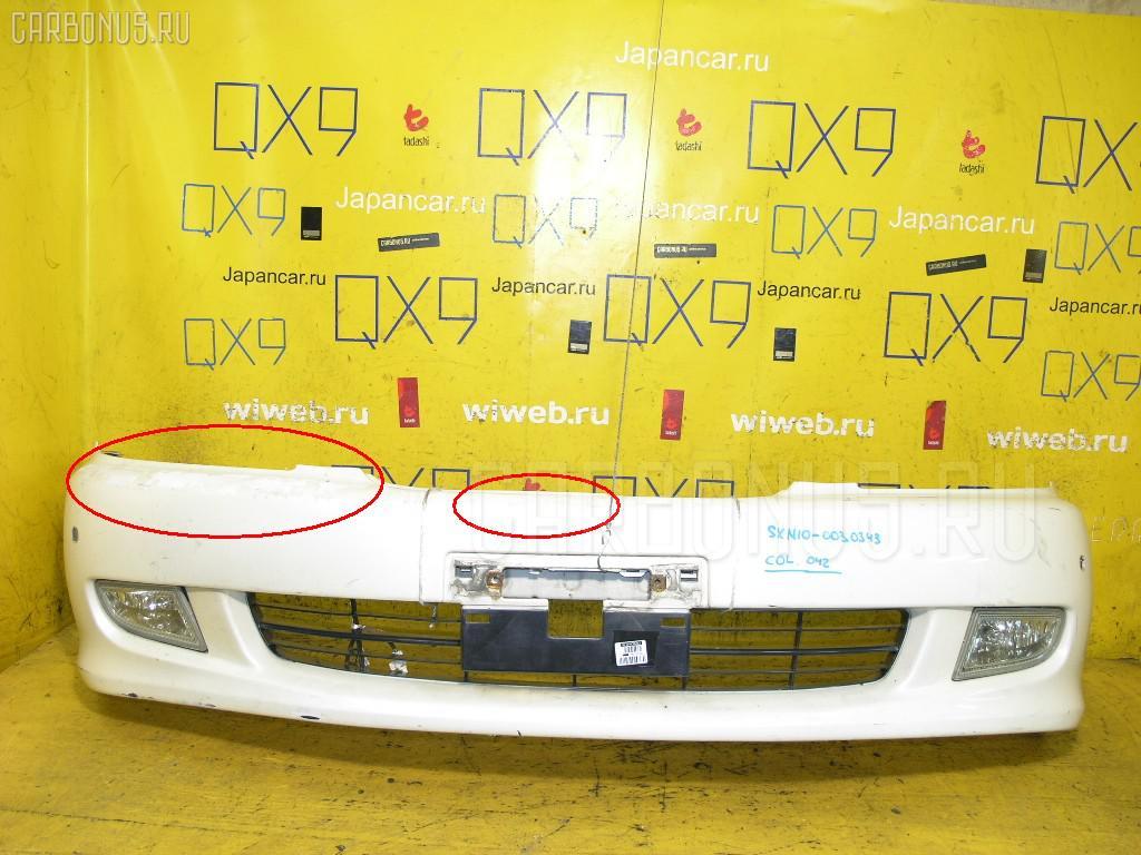 Бампер TOYOTA NADIA SXN10 Фото 1