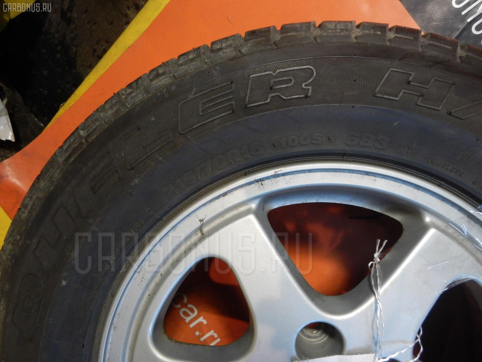 Автошина легковая летняя DUELER H/L 215/70R16 BRIDGESTONE Фото 3