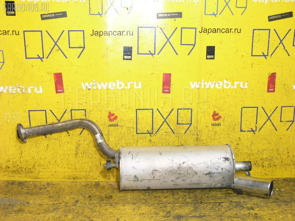 Глушитель TOYOTA MARK II GX81 1G-GE. Фото 1