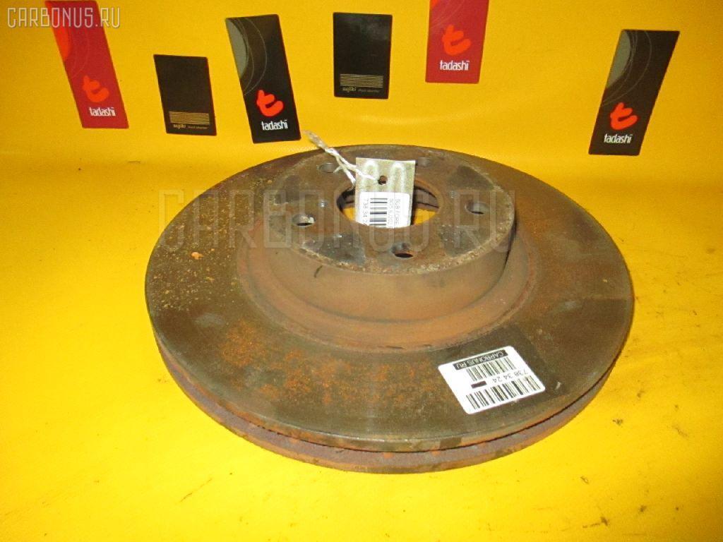 Тормозной диск SUBARU FORESTER SG5. Фото 3