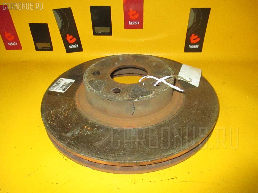 Тормозной диск SUBARU FORESTER SG5. Фото 4