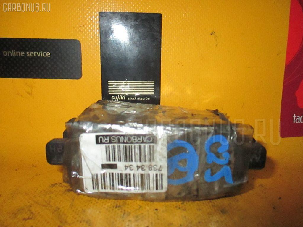Тормозные колодки NISSAN SERENA C25 MR20DE Фото 1