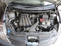 Защита замка капота Nissan Tiida latio SC11 HR15DE Фото 6