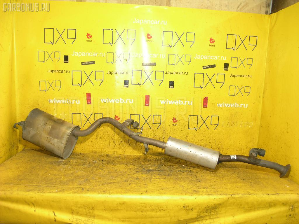 Глушитель TOYOTA MARK II GX110 1G-FE. Фото 11