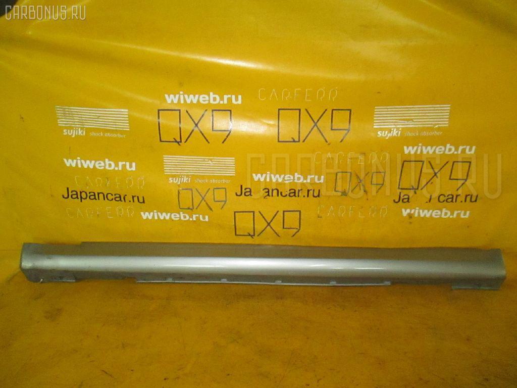 Порог кузова пластиковый ( обвес ) NISSAN SKYLINE V35. Фото 2