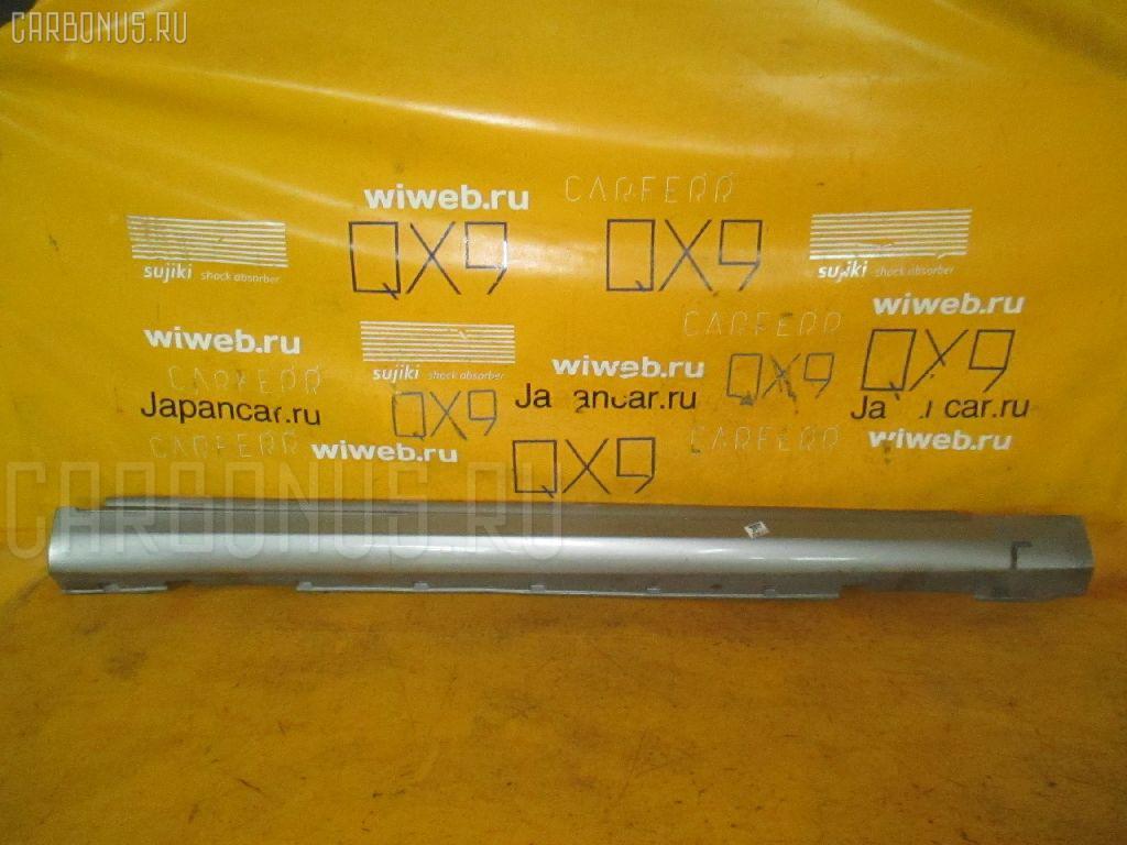 Порог кузова пластиковый ( обвес ) NISSAN SKYLINE V35. Фото 3
