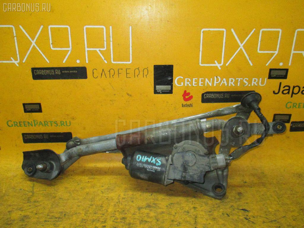 Мотор привода дворников TOYOTA GAIA SXM10G. Фото 8
