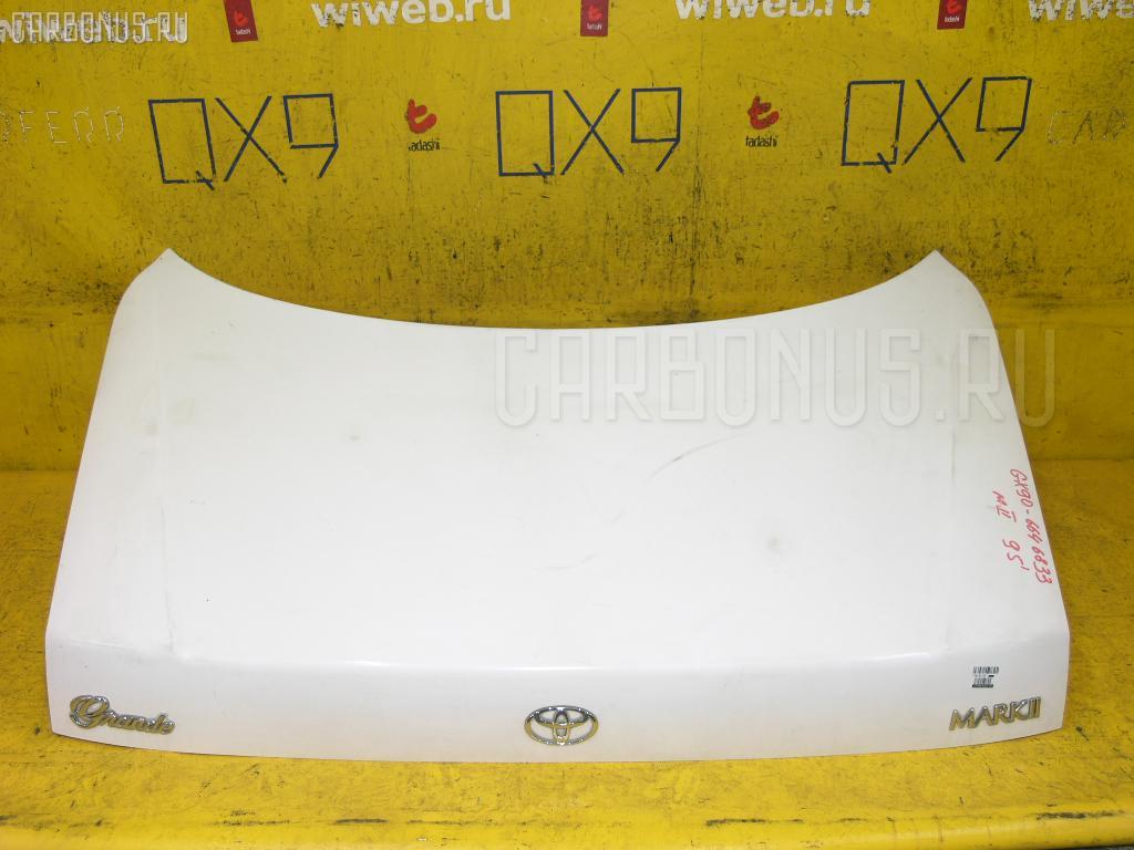 Крышка багажника TOYOTA MARK II GX90. Фото 10