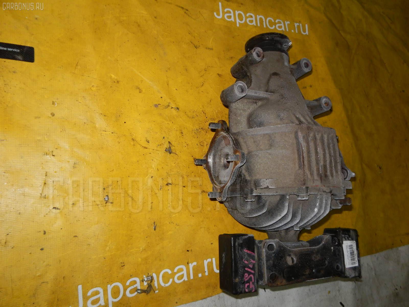 Редуктор TOYOTA CROWN GS141 1G-FE. Фото 8