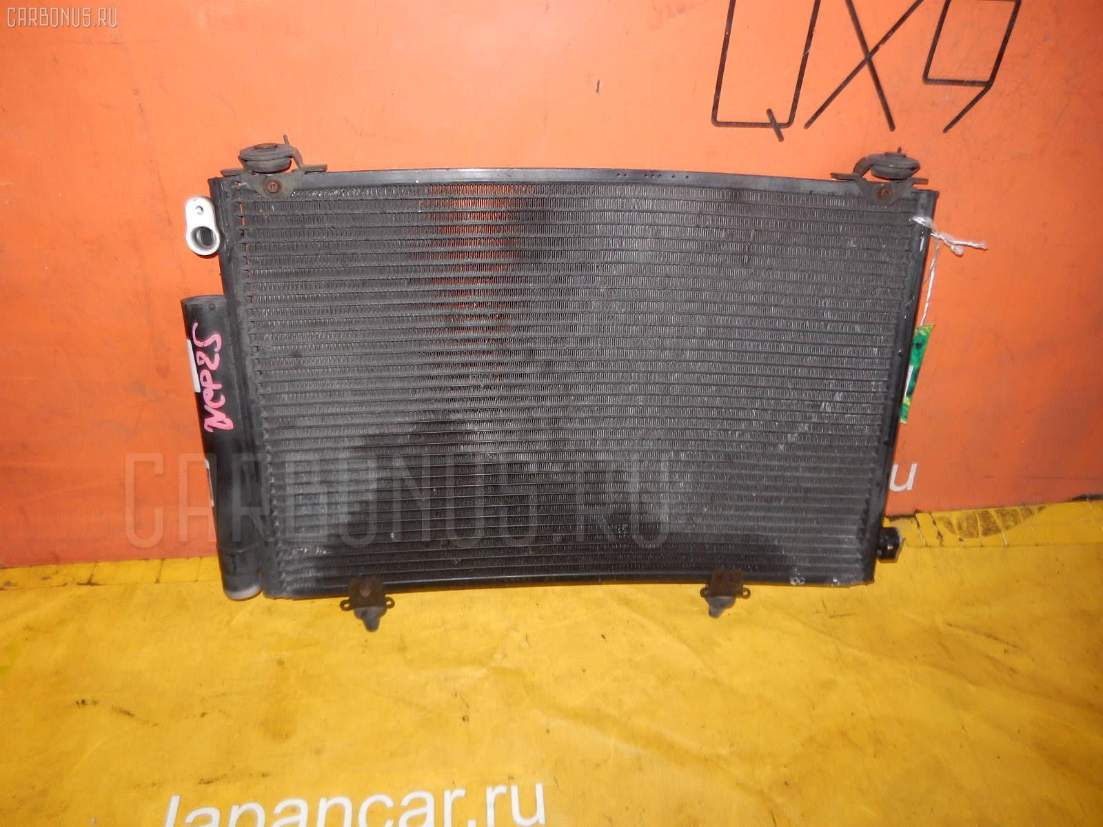 Радиатор кондиционера TOYOTA FUNCARGO NCP25 1NZ-FE. Фото 8