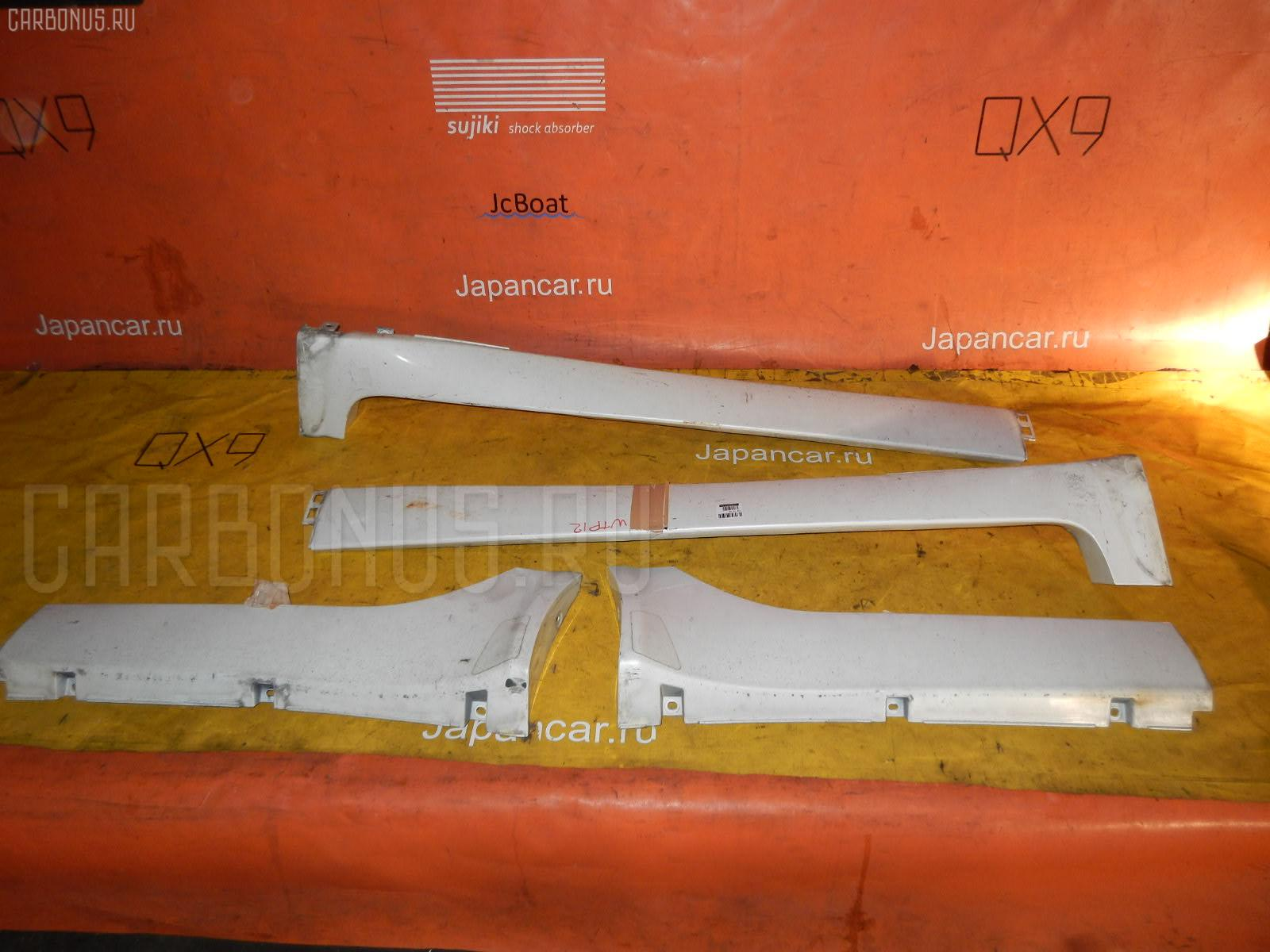 Порог кузова пластиковый ( обвес ) NISSAN PRIMERA WAGON WTP12. Фото 9