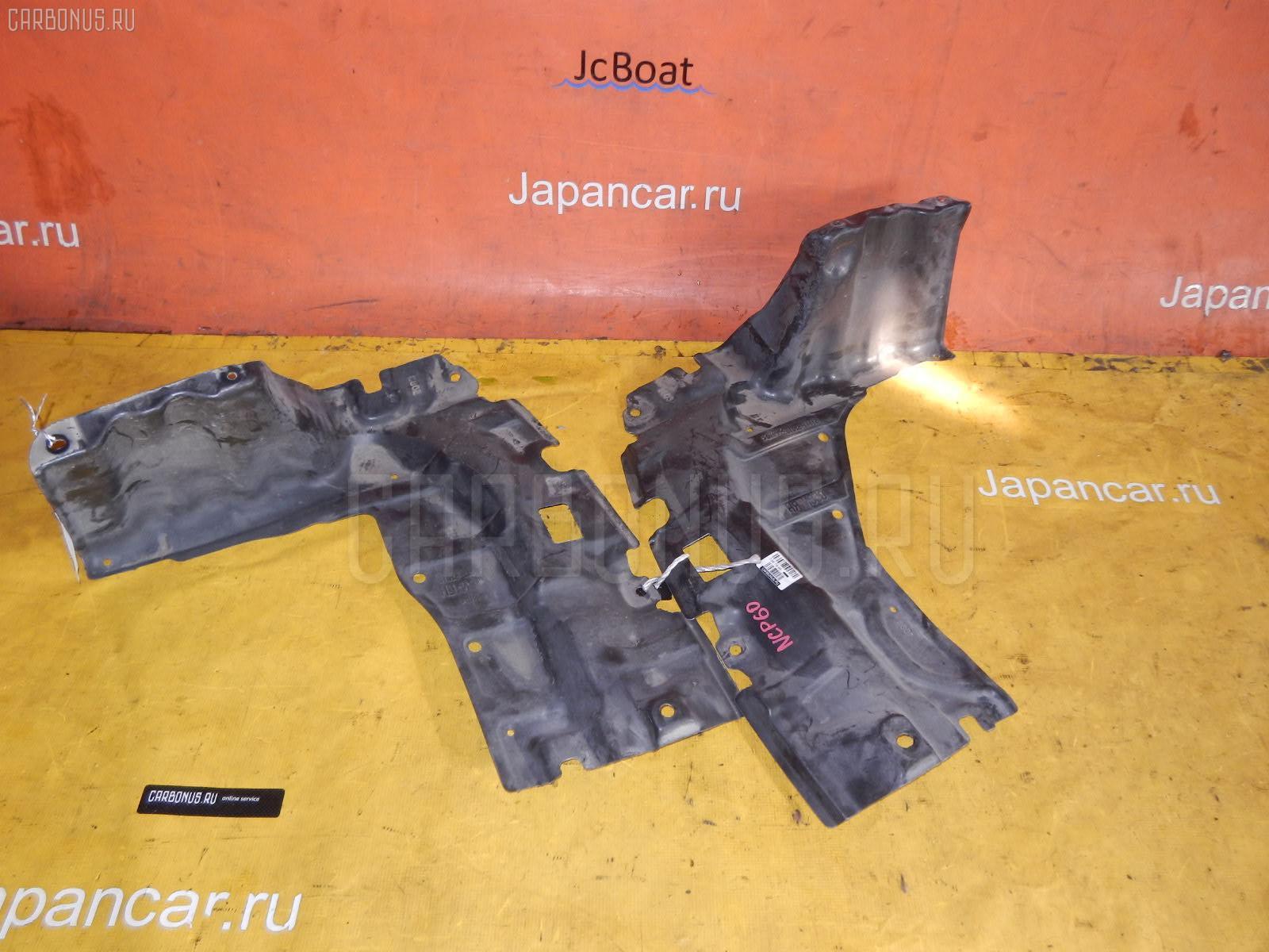 Защита двигателя TOYOTA IST NCP60 2NZ-FE. Фото 3