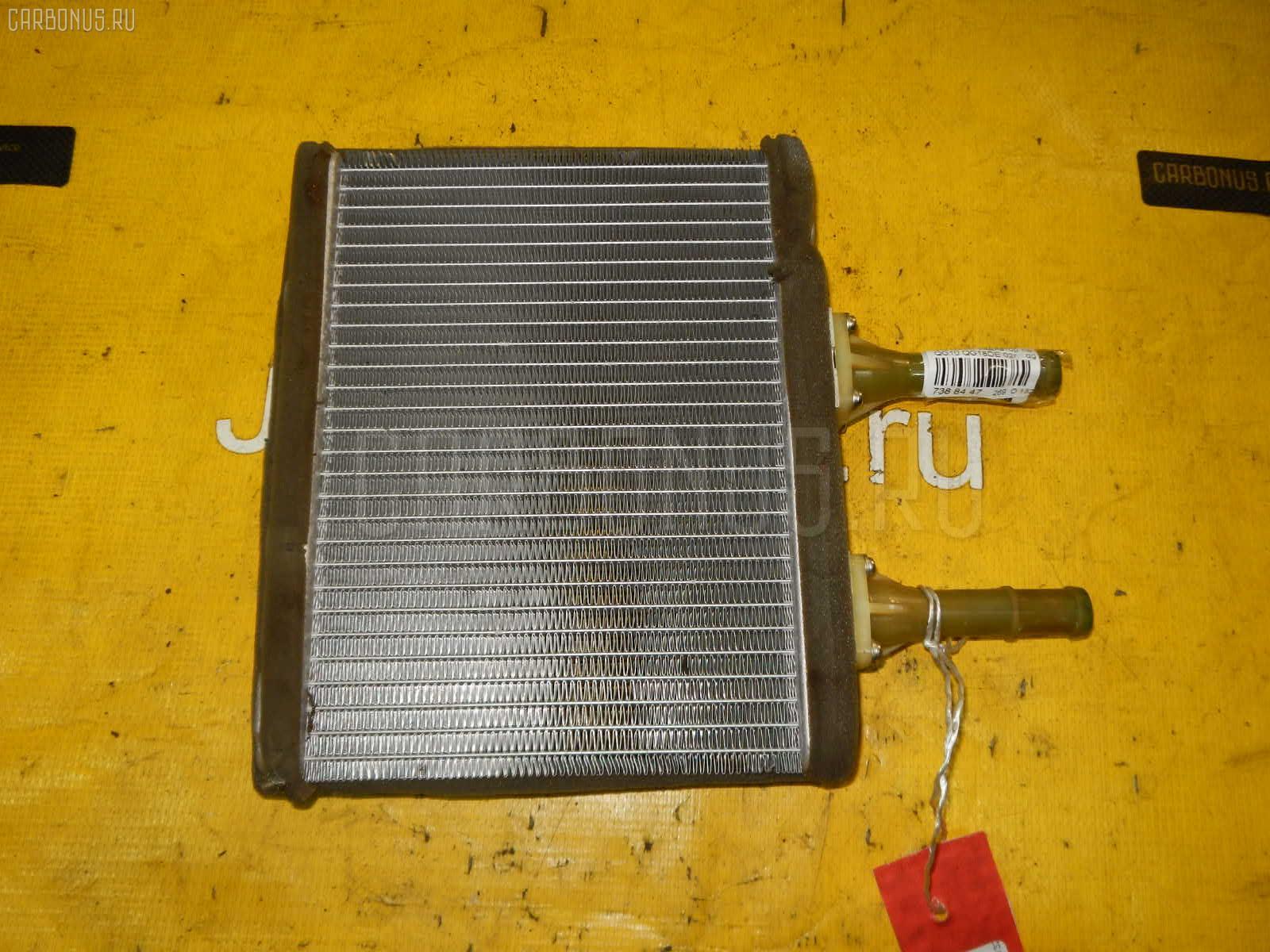 Радиатор печки NISSAN BLUEBIRD SYLPHY QG10 QG18DE. Фото 3