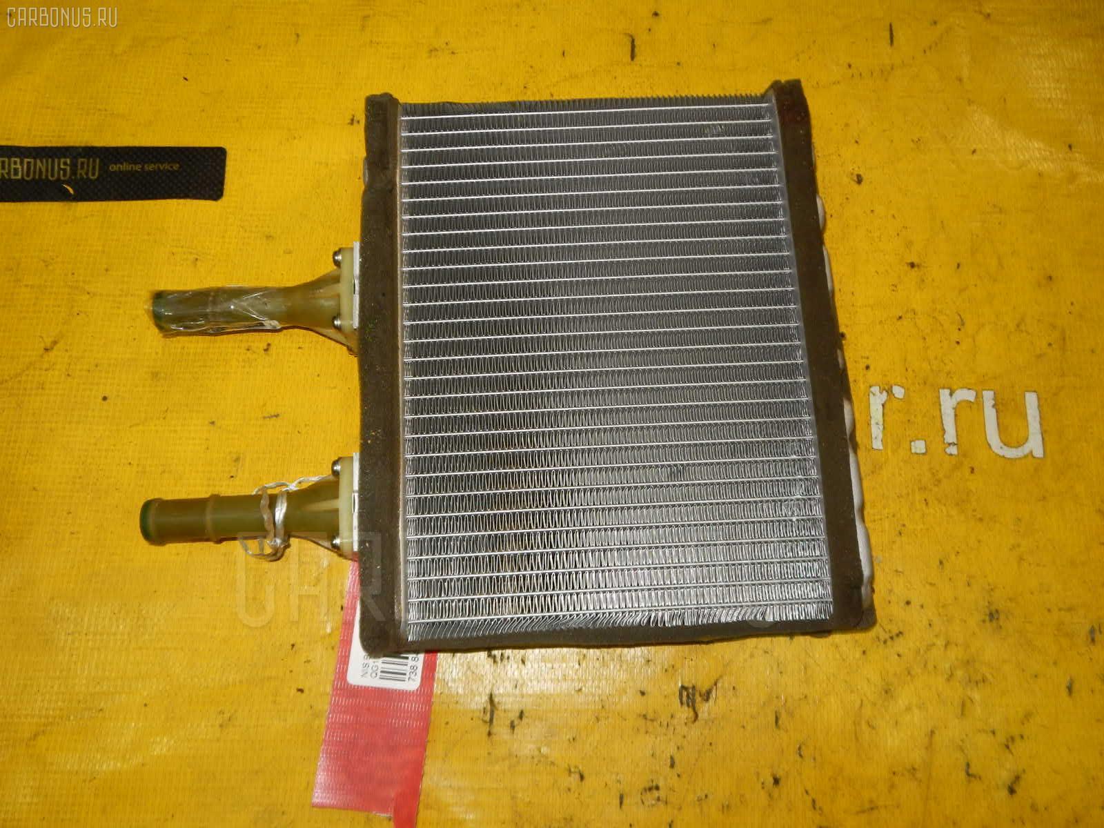 Радиатор печки NISSAN BLUEBIRD SYLPHY QG10 QG18DE. Фото 4