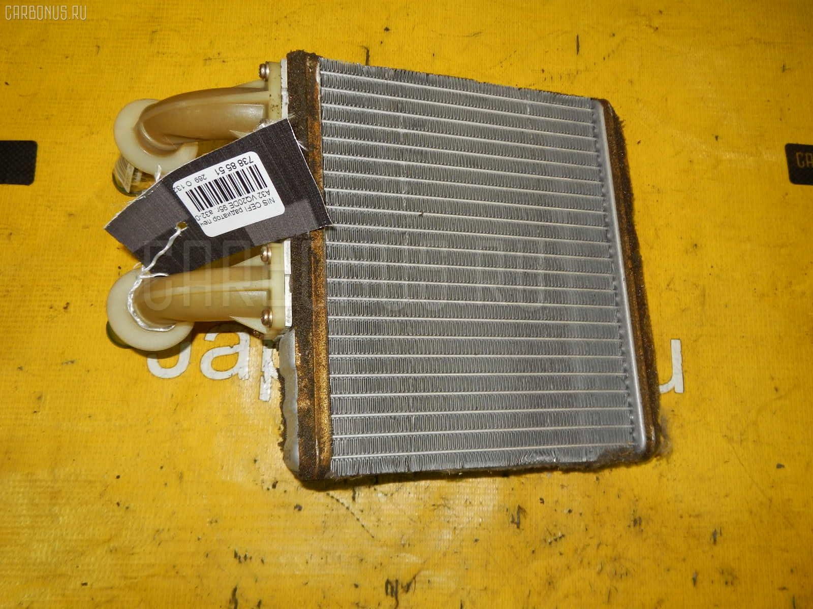 Радиатор печки NISSAN CEFIRO A32 VQ20DE. Фото 5