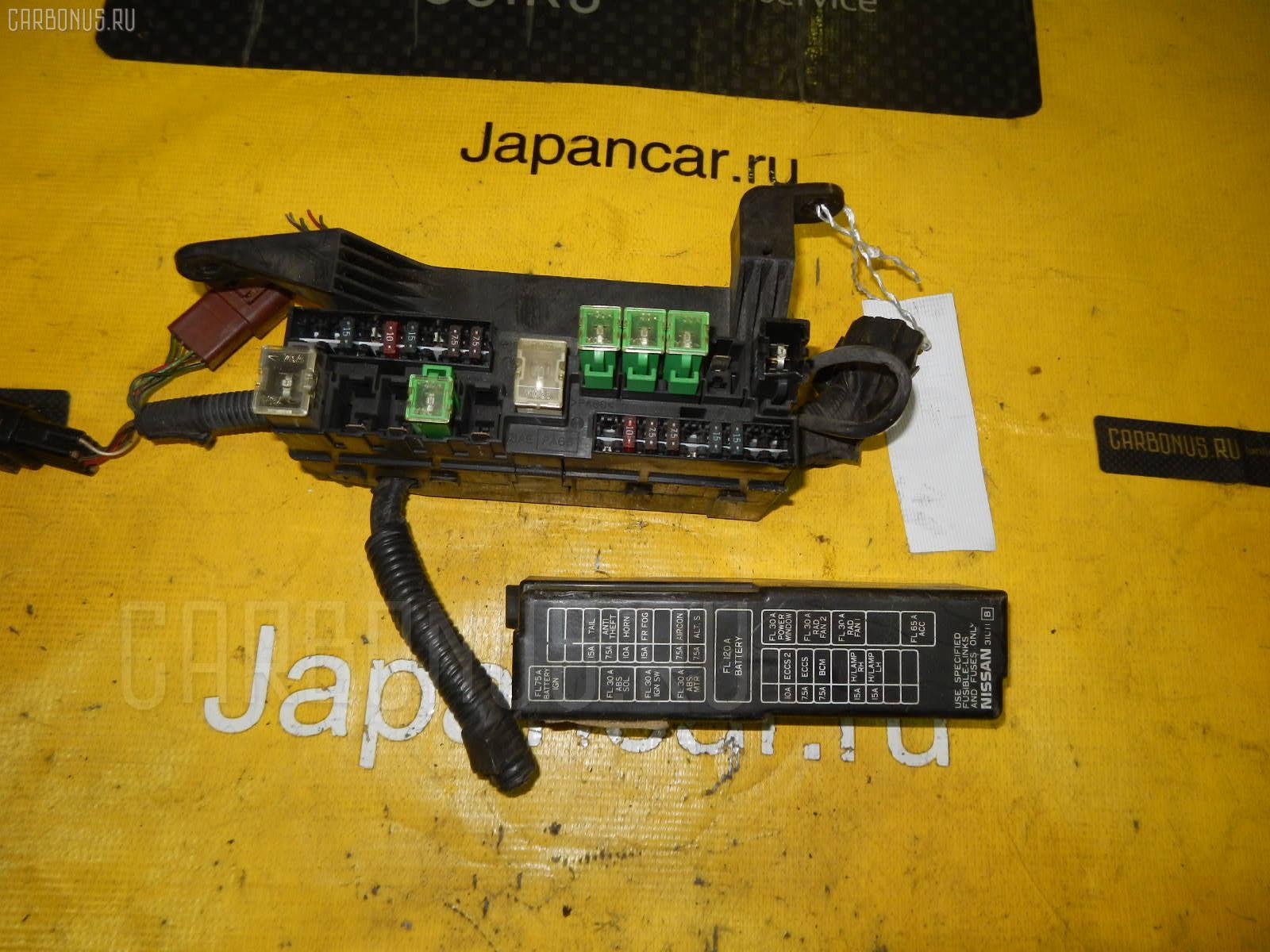Блок предохранителей NISSAN CEFIRO A32 VQ20DE. Фото 9