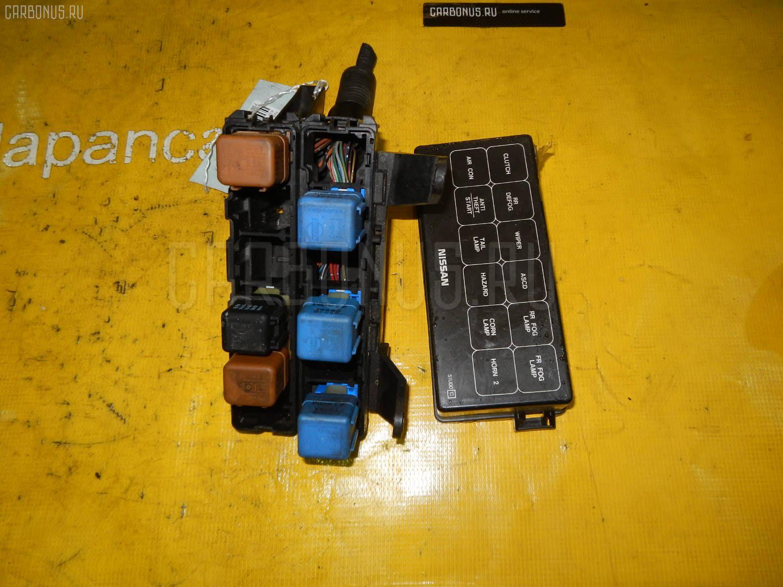 Блок предохранителей NISSAN CEFIRO A32 VQ20DE. Фото 11