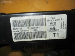 Блок управления климатконтроля Peugeot 206 2JNFU NFU-TU5JP4 Фото 3