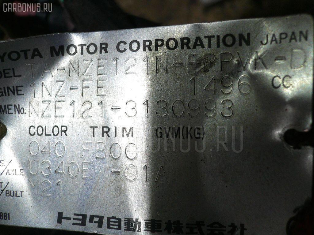 Двигатель TOYOTA COROLLA SPACIO NZE121N 1NZ-FE Фото 4