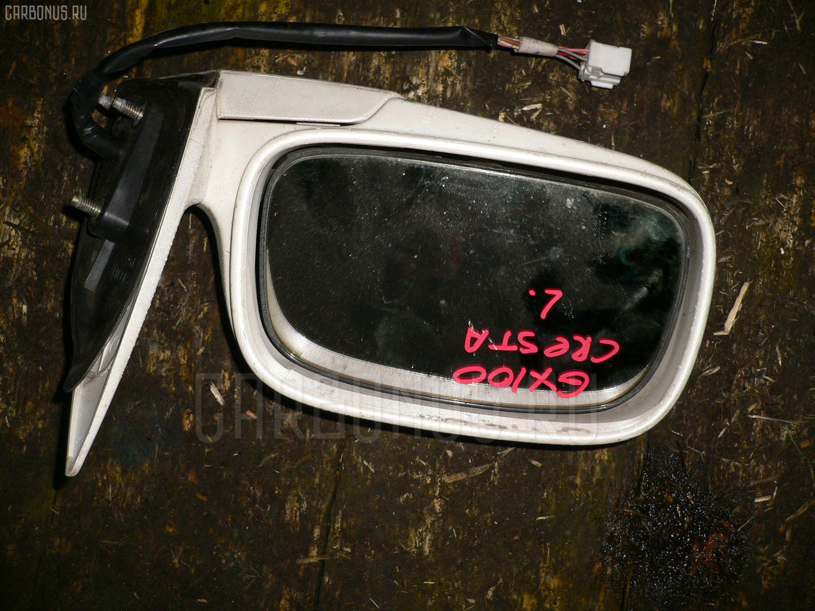 Зеркало двери боковой TOYOTA CRESTA GX100 Фото 2