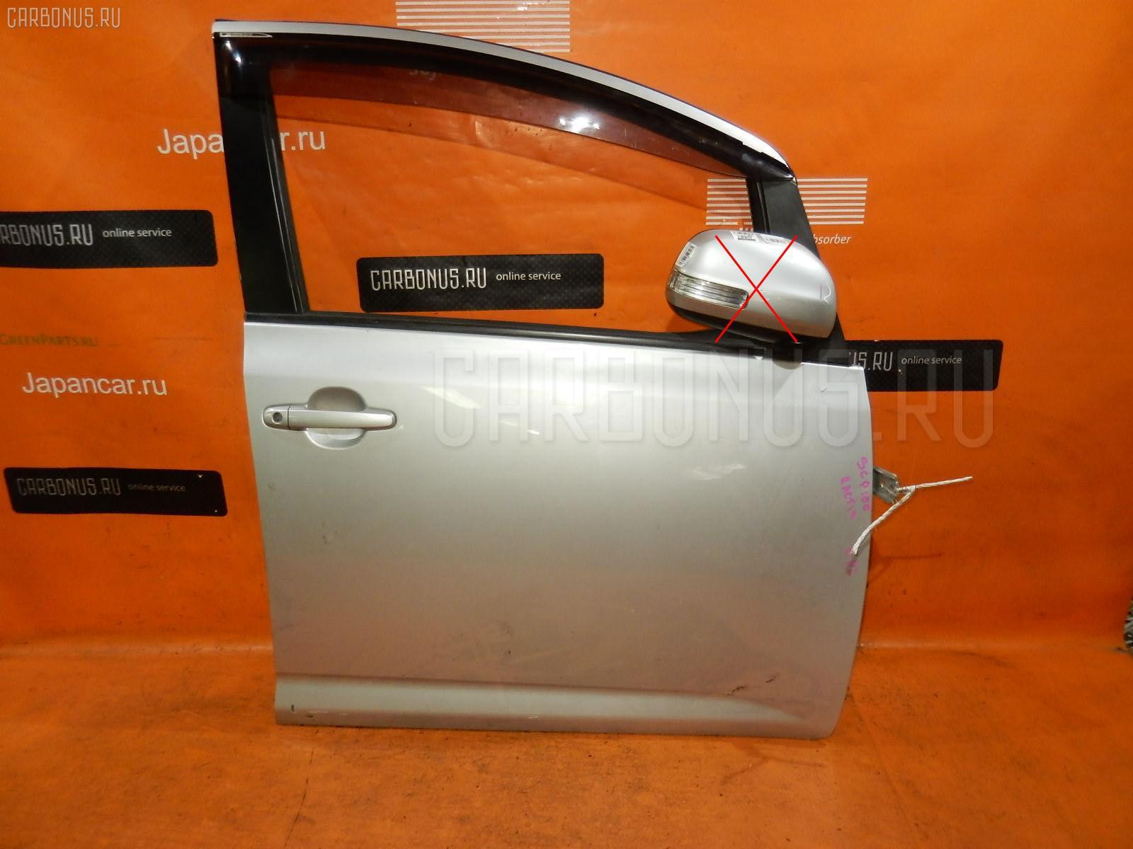 Дверь боковая Toyota Ractis SCP100 Фото 1