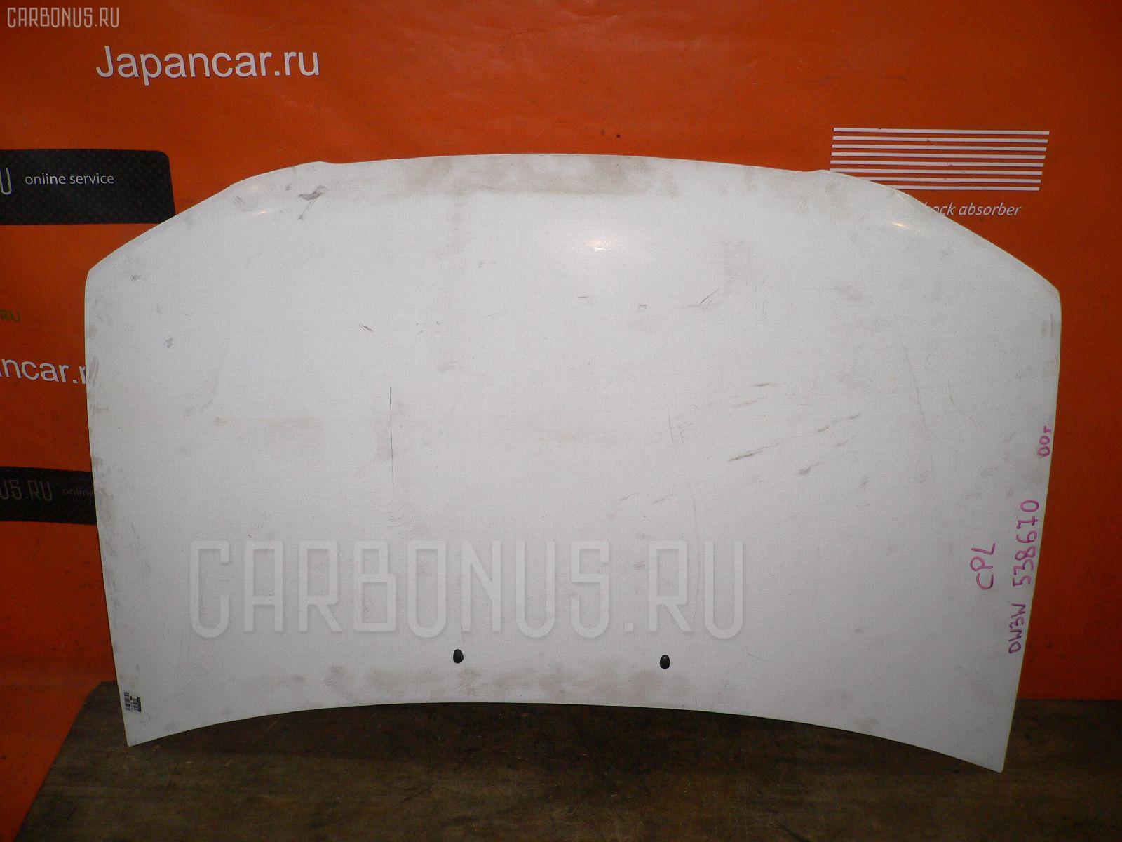 Капот Mazda Demio DW3W Фото 1