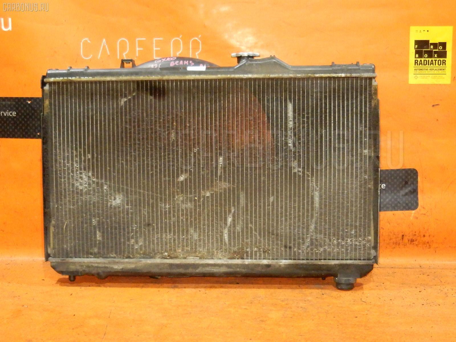 Радиатор ДВС TOYOTA CRESTA GX100 1G-FE Фото 2