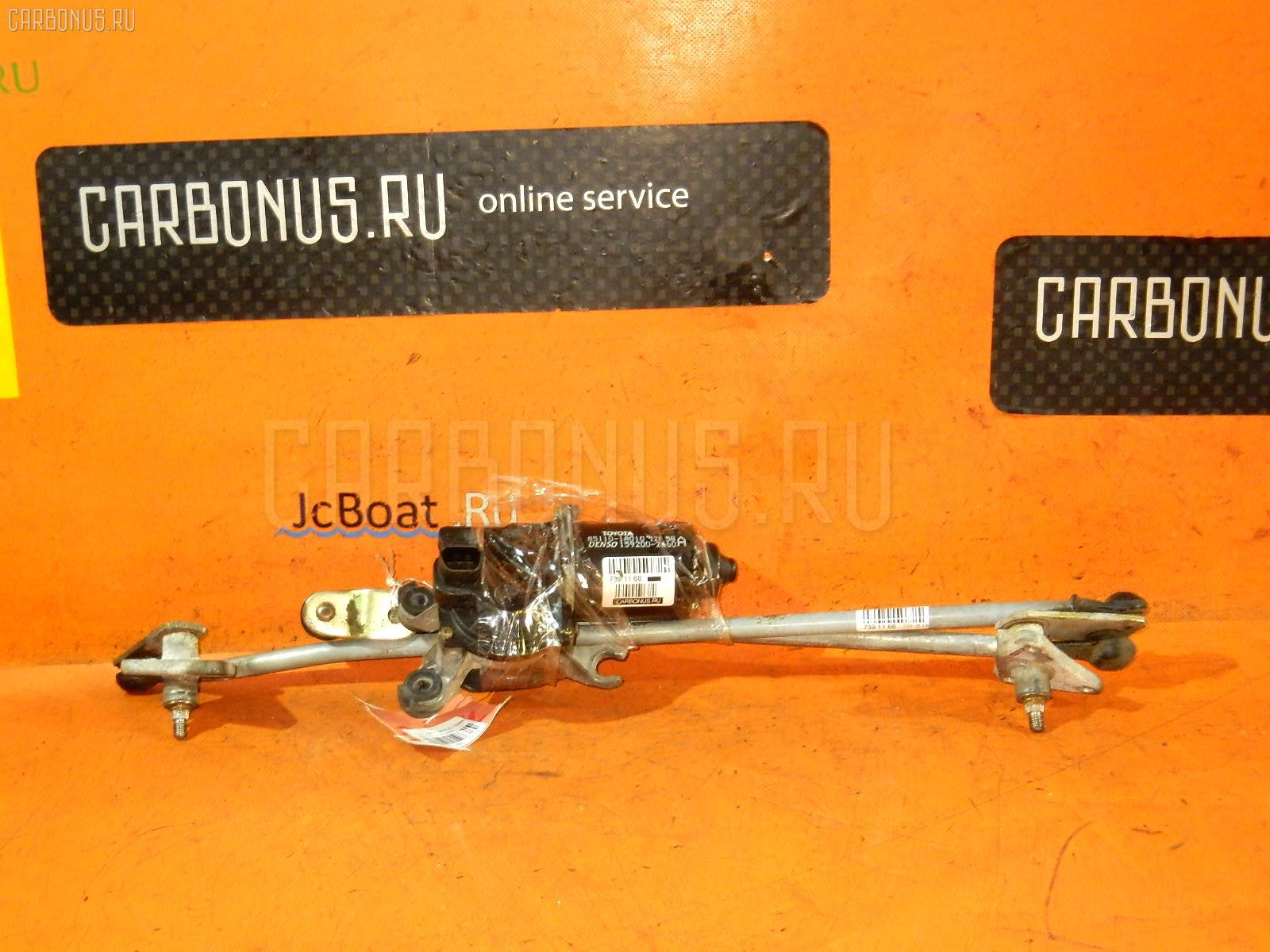 Мотор привода дворников TOYOTA SPRINTER AE110. Фото 3