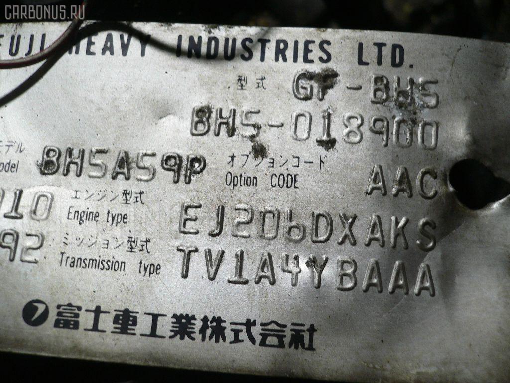Двигатель SUBARU LEGACY WAGON BH5 EJ206 Фото 1