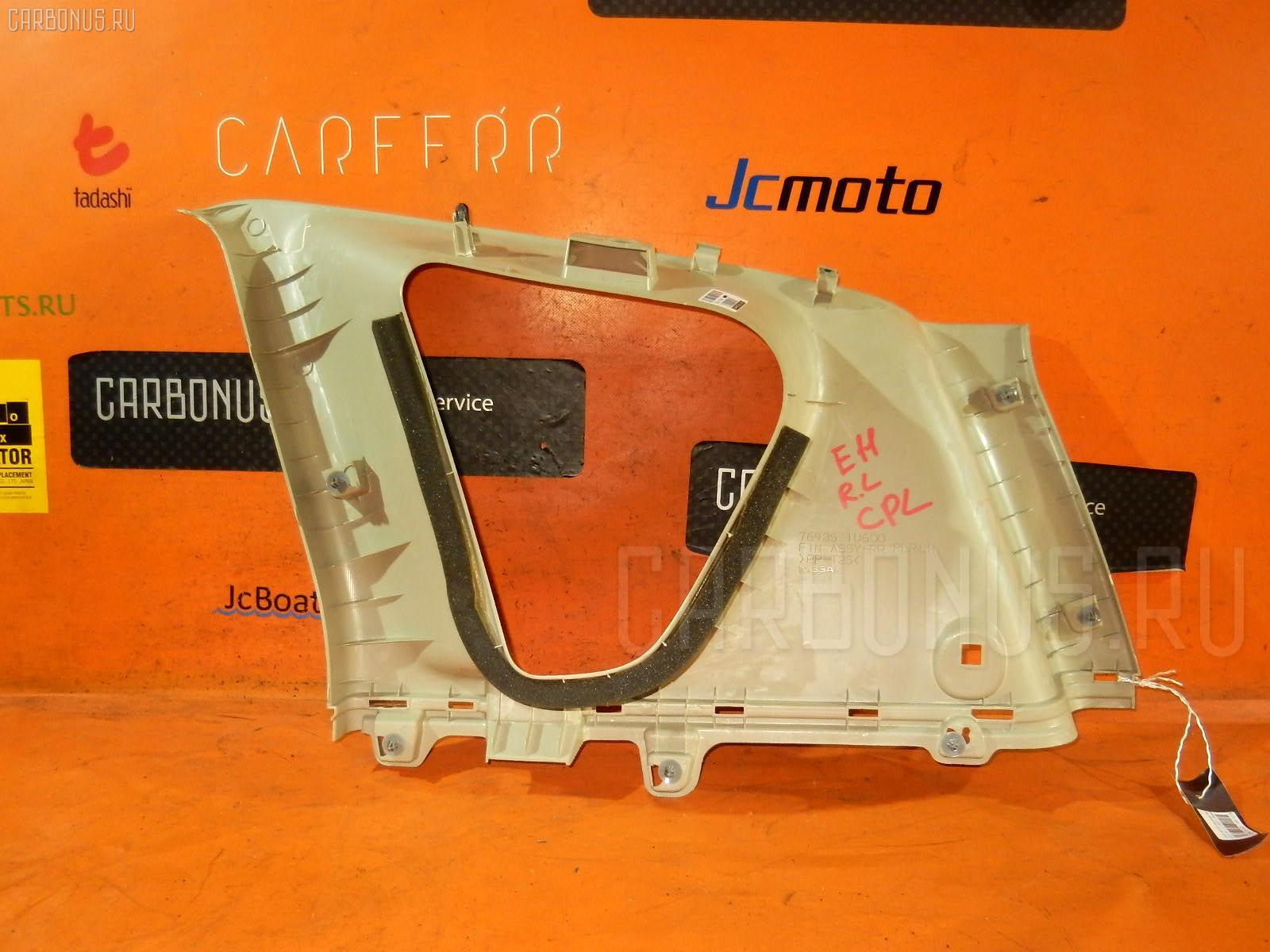 Обшивка багажника NISSAN NOTE E11 Фото 2