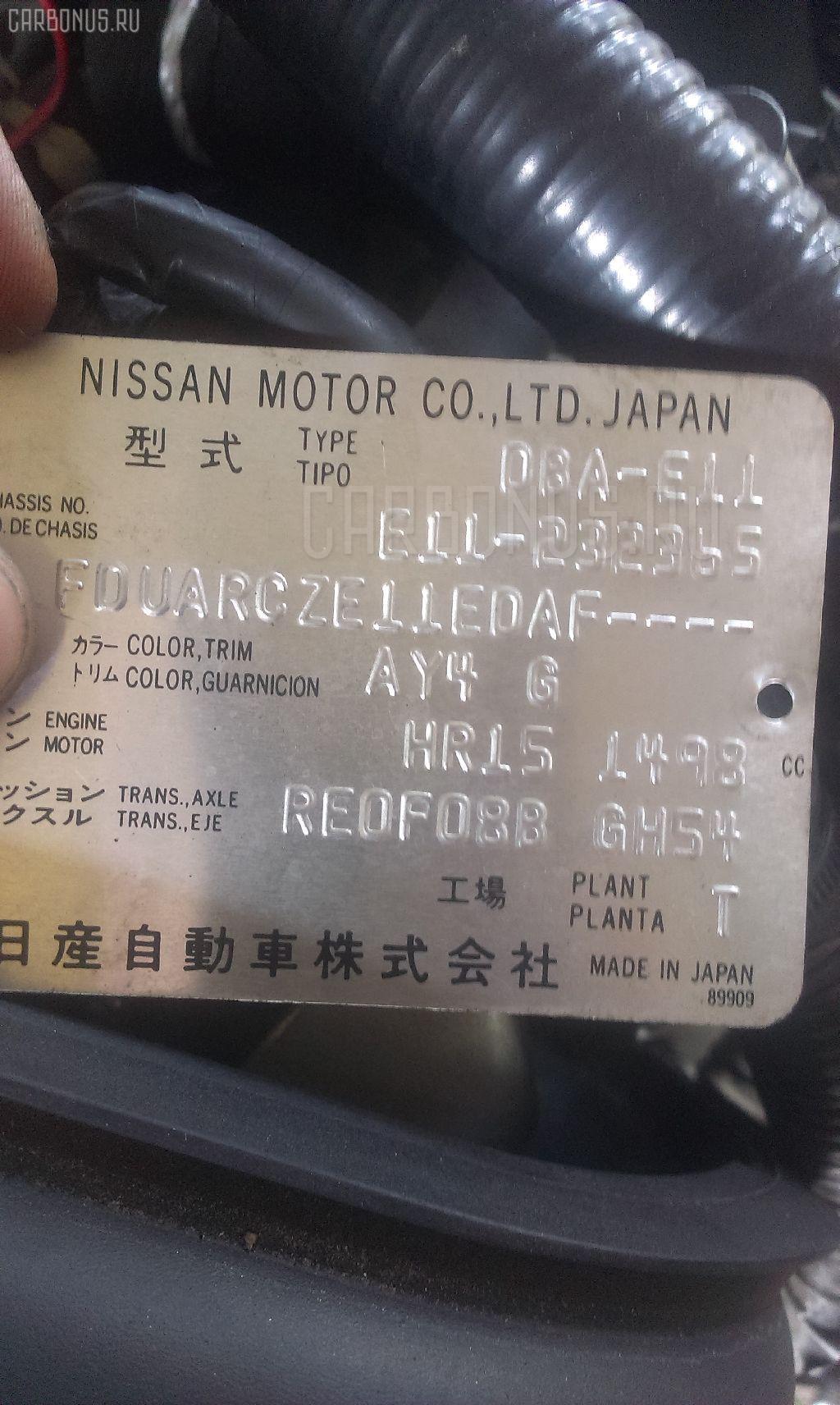 Обшивка багажника NISSAN NOTE E11 Фото 7