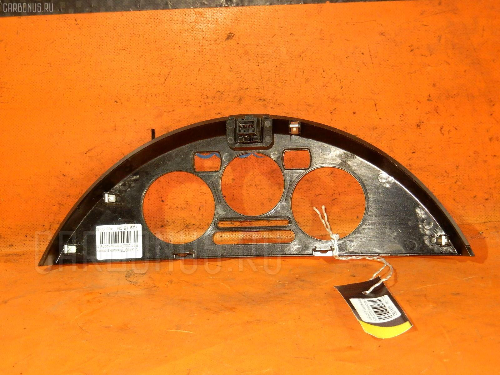 Кнопка аварийной остановки NISSAN NOTE E11 Фото 1
