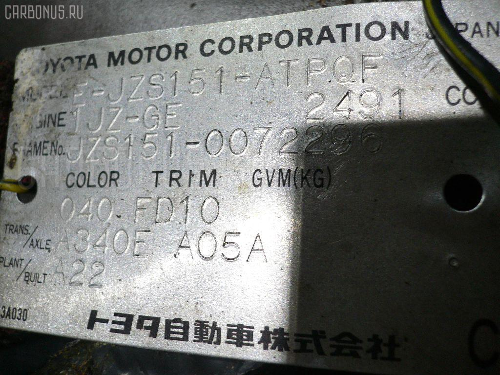 Двигатель Toyota Crown JZS151 1JZ-GE Фото 1