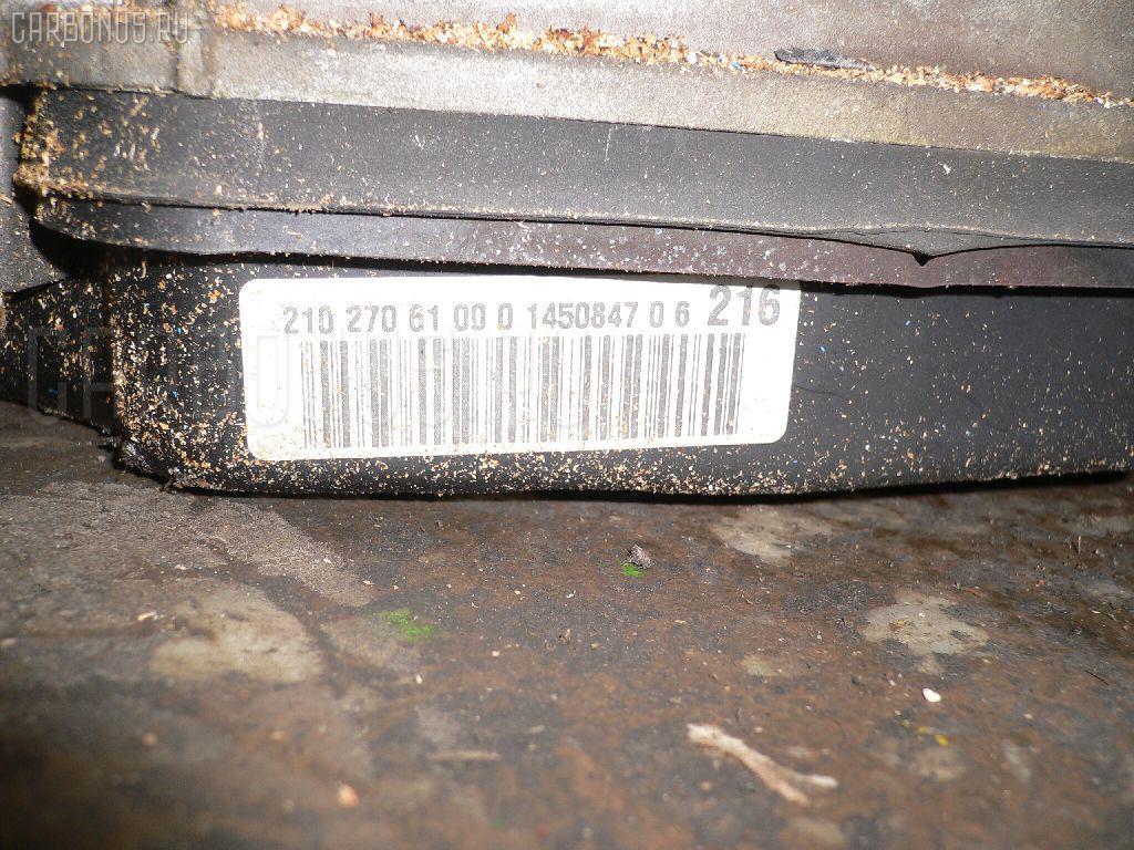 КПП автоматическая MERCEDES-BENZ E-CLASS W210.065 112941. Фото 5