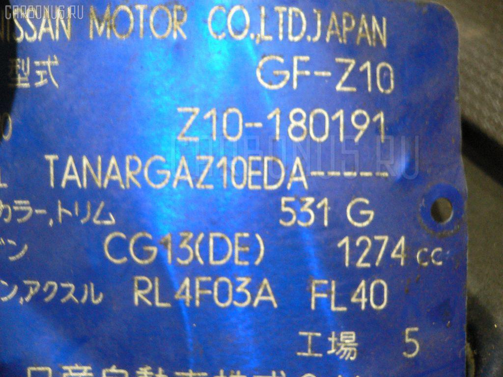 КПП автоматическая NISSAN CUBE Z10 CG13DE Фото 1