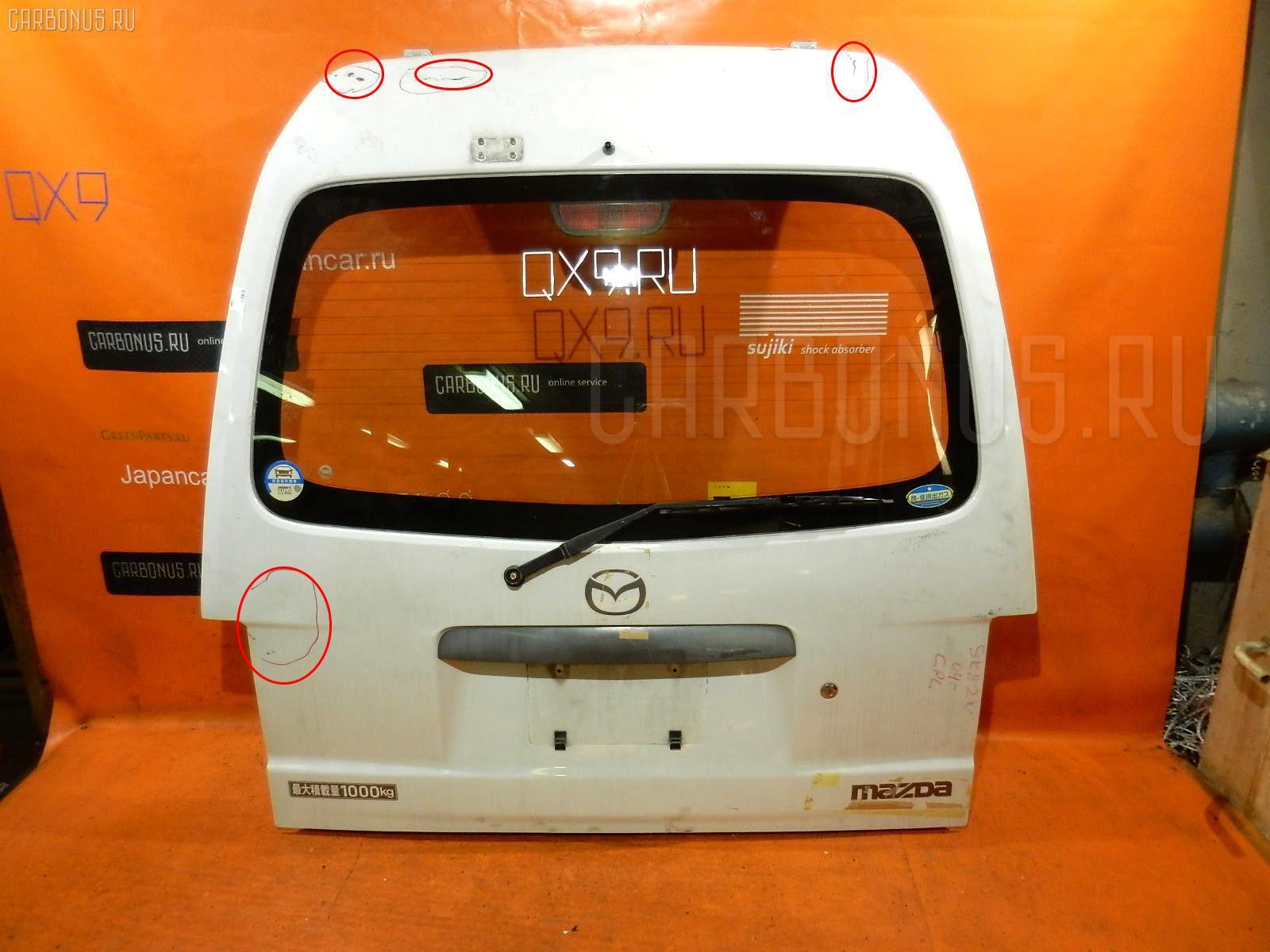 Дверь задняя MAZDA BONGO SK82V Фото 2