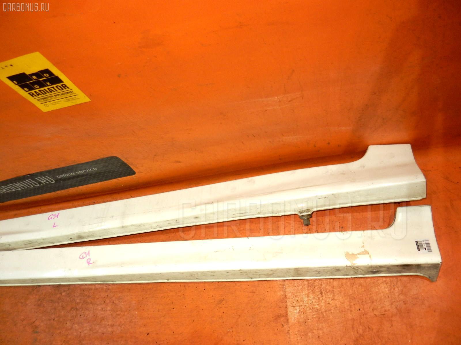 Порог кузова пластиковый ( обвес ) HONDA AIRWAVE GJ1. Фото 6