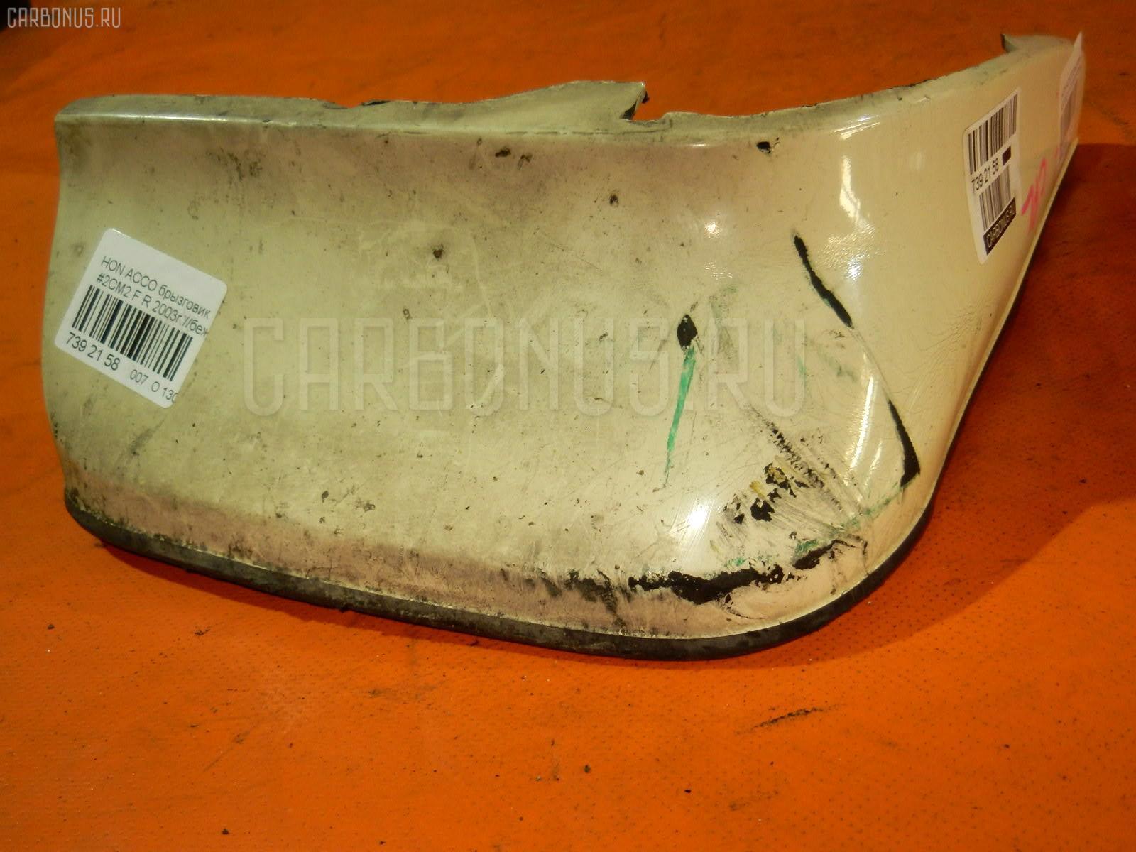 Брызговик на Honda Accord Wagon CM2 Фото 1