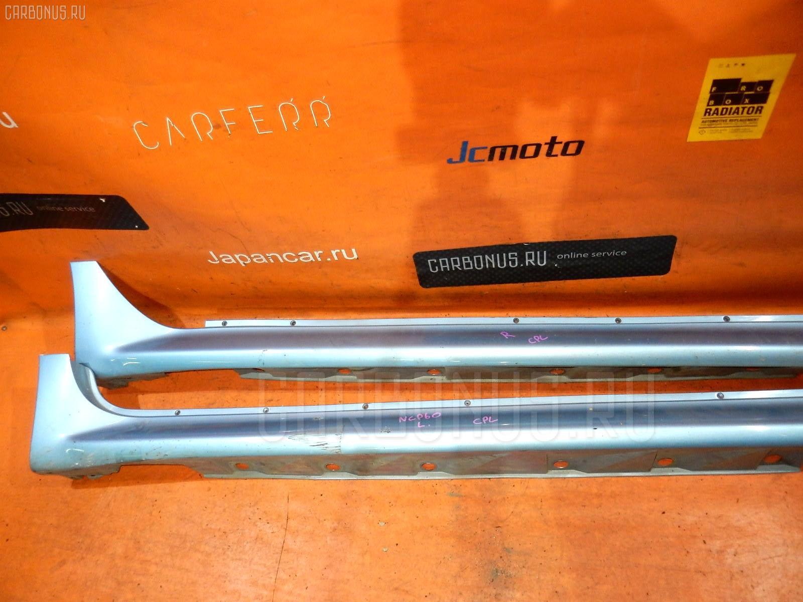 Порог кузова пластиковый ( обвес ) TOYOTA IST NCP60 Фото 2