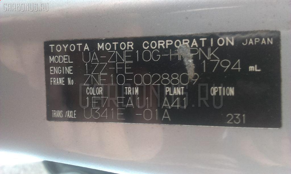 Двигатель TOYOTA WISH ZNE10G 1ZZ-FE Фото 12